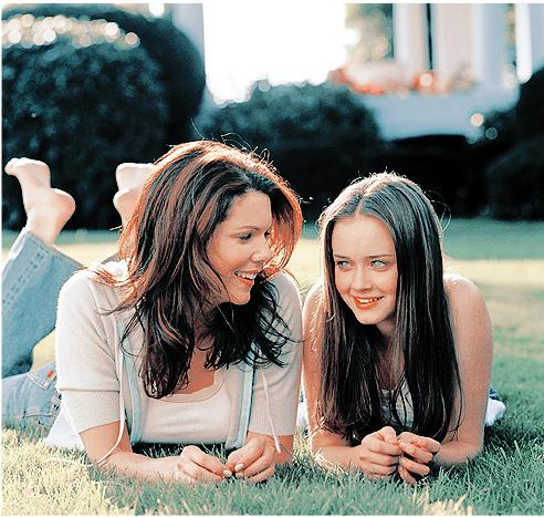 Although not a movie, Gilmore Girls is a great tv show